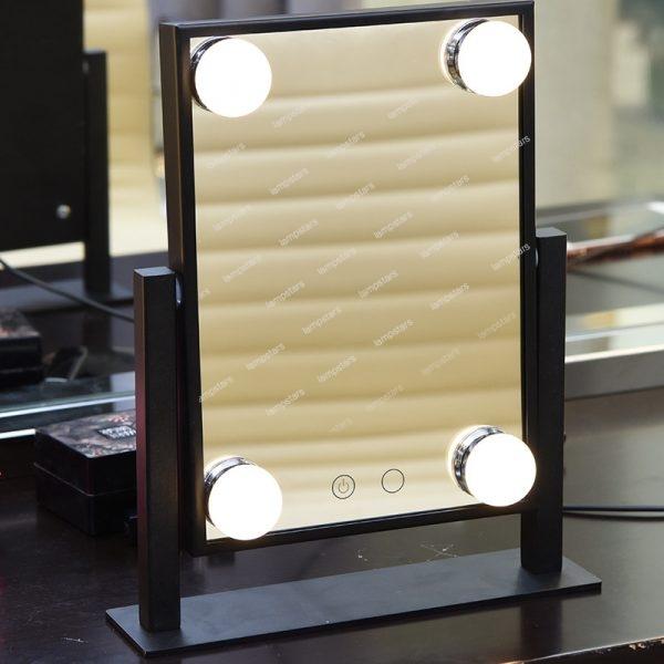 hollywood light bulb mirror