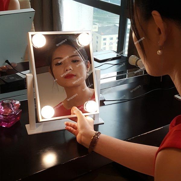 hollywood lights vanity mirror