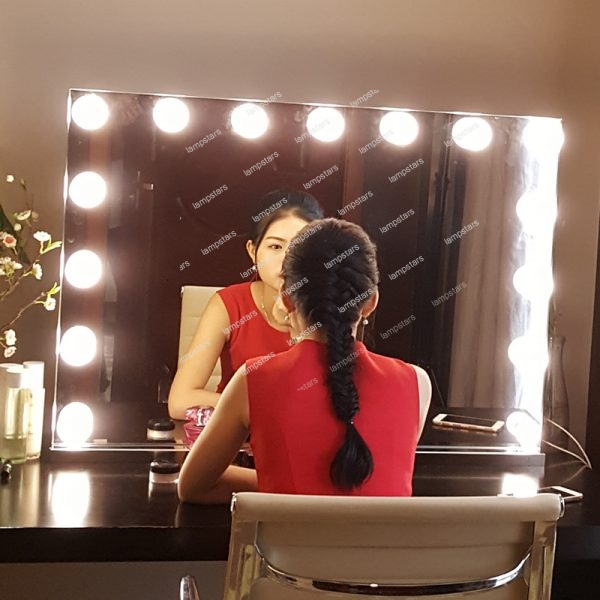 hollywood style mirror lights