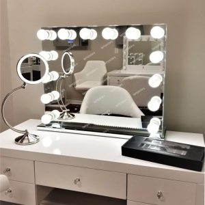 14 Pcs Light Up Mirror Vanity Large Size