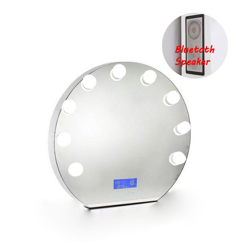 Best Audio Bluetooth Frameless Ring Light Mirror For
