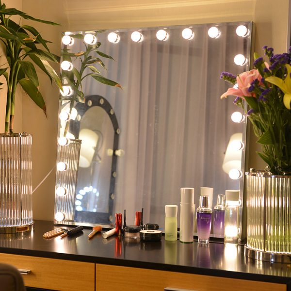 lighted mirrors for vanity