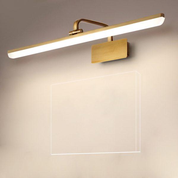 lights above bathroom mirrors