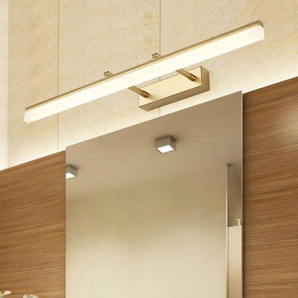 long bathroom vanity lights