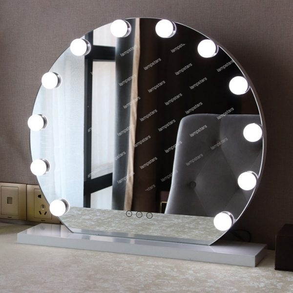 makeup artist mirror with lights