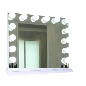 14 Pcs LED Bulbs Hollywood Vanity Set with Lighted Mirror