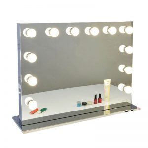 makeup vanity with hollywood lights for sale