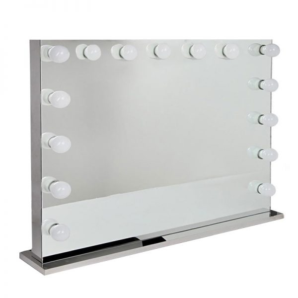 mirror hollywood makeup with lights for sale