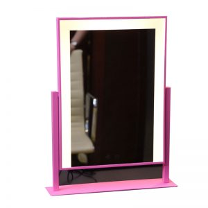 Pink Vanity Mirror With Lights LED Bar