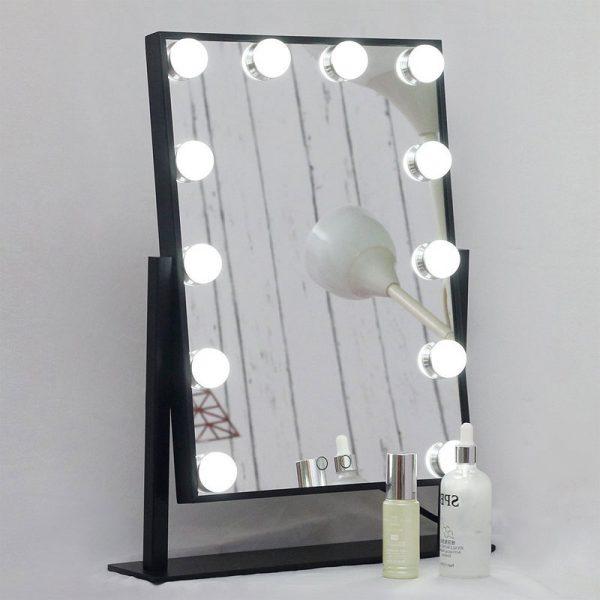 vanity girl hollywood lighted mirror
