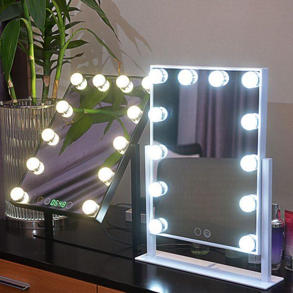 vanity makeup mirror with lights for sale