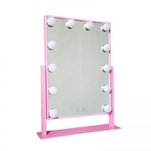 Big LED Light Up Cosmetic Mirror 12 Bulbs