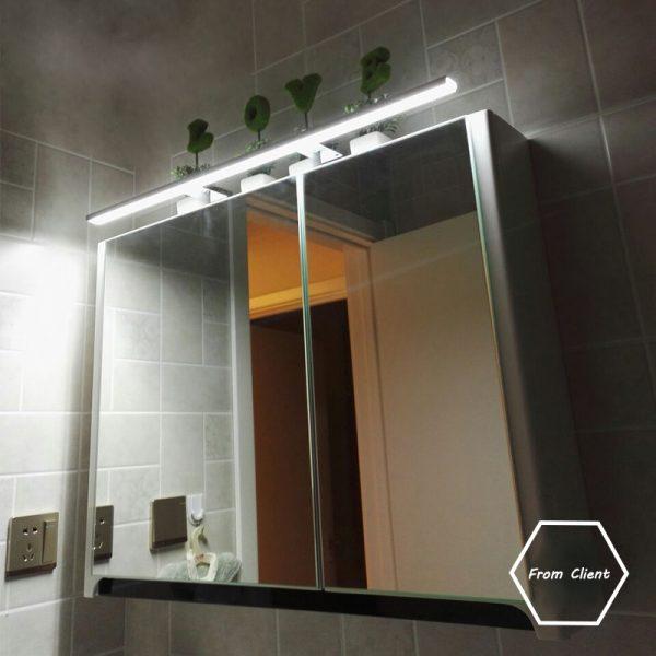 wall mount bathroom lights